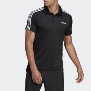 camisa adidas polo design 2 move preto - dt3048