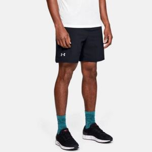 shorts de corrida under armour launch sw 7