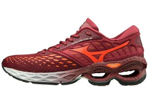 tênis mizuno wave creation 21 masculino - laranja