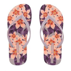 chinelo ipanema i love floral bege