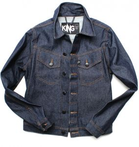 jaqueta masculina jeans work upcycle