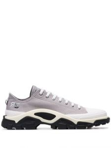 adidas by raf simons grey detroit runner contrast sole low-t