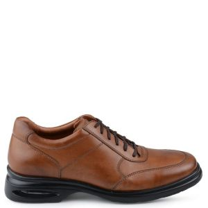 sapato social casual bowling air cat tan