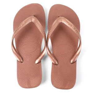 chinelo havaianas top - bege