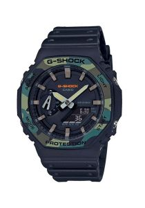 relógio g-shock ga carbon core guard masculino - preto back wash